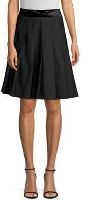 Marc Jacobs Pleated Flared Skirt