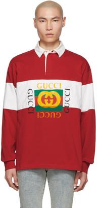 ed31275c0 Gucci Red Men's Longsleeve Shirts - ShopStyle