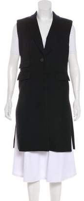 Veronica Beard Longline Wool Vest