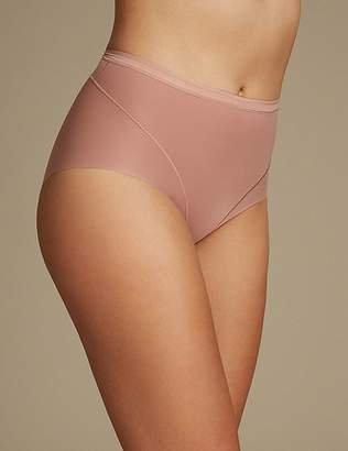 Marks and Spencer 2 Pack Light Control No VPL Full Brief Knickers