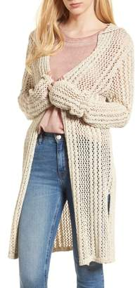 Splendid Knox Hooded Cardigan