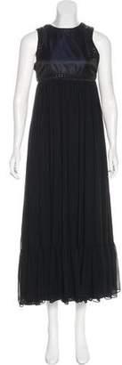 Pierre Balmain Sleeveless Maxi Dress w/ Tags