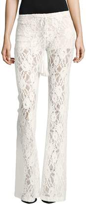 Winston White Women's Rosanna Lace Bootcut Pants