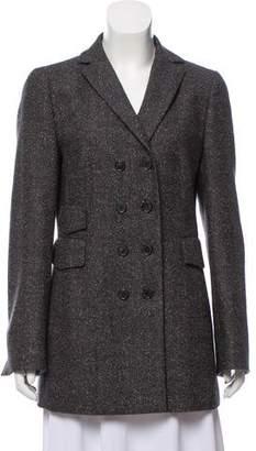 Akris Punto Wool Tweed Suit Skirt Set.