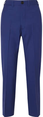 Vivienne Westwood Wool-twill Straight-leg Pants - Royal blue