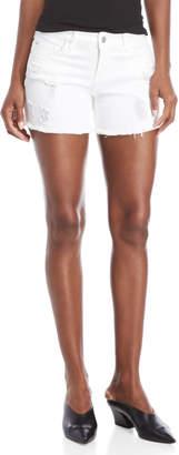 Dollhouse Distressed Boyfriend Shorts
