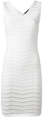 Twin-Set banded fitted dress $198.92 thestylecure.com