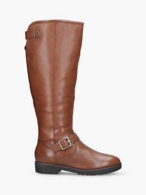 Carvela Samba Buckle Detail Knee High Boots