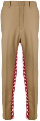 Paura logo oversized trousers