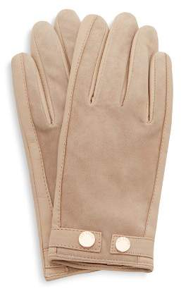 Ted Baker Ssue Leather & Suede Gloves