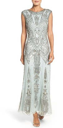 Petite Women's Pisarro Nights Embellished Gown $218 thestylecure.com