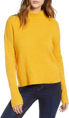 BP Ribbed Funnel Neck Sweater