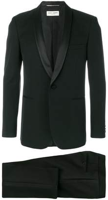 Saint Laurent formal fitted two-piece suit