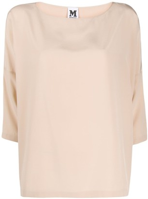 M Missoni three-quarter sleeve blouse