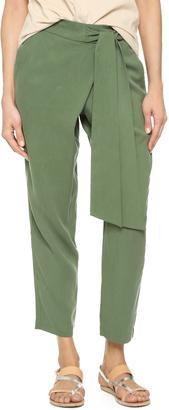 Ella Moss The Wrap Front Pants $168 thestylecure.com