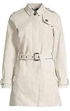 Barbour Women's Tartan Quarry Belted Jacket