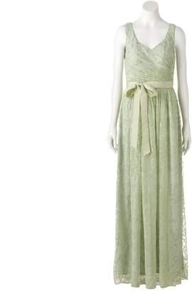 Onyx Nite Women's Shirred Waist Gown