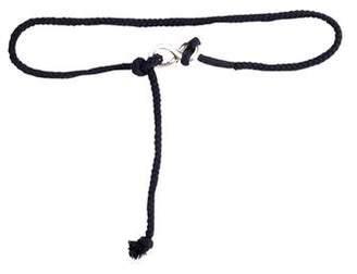 Faraone Mennella Braided Woven Belt
