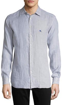 Etro Linen Sportshirt