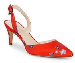 Nine West Epiphany Floral Slingback Heels