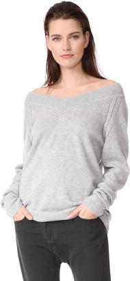 Belstaff Skylar Luxury Cashmere Sweater $595 thestylecure.com