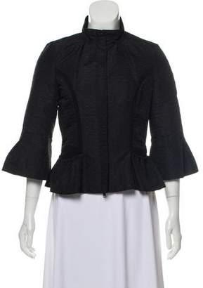 Diane von Furstenberg Cleonor Zip-Up Jacket