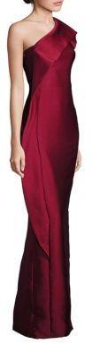 ML Monique Lhuillier One-Shoulder Drape Gown $695 thestylecure.com