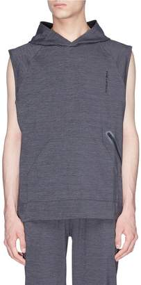 The Upside 'Recovery' stretch sleeveless performance hoodie