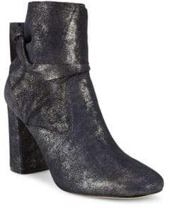Sigerson Morrison Sally Ankle-Wrap Leather Boots