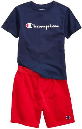 Champion Heritage 2-Pc. Logo-Print T-Shirt & Shorts Set, Little Boys