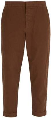 Barena VENEZIA Micro check cotton-blend trousers
