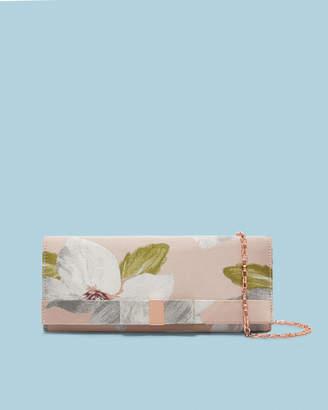 Ted Baker KORRI Chatsworth Bloom jacquard clutch bag