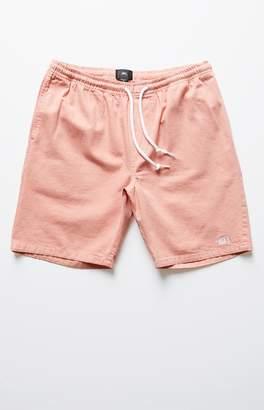 Obey Keble Drawstring Denim Shorts