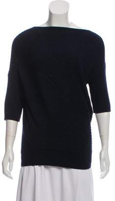 J.W.Anderson Wool Dolman Sweater Navy Wool Dolman Sweater