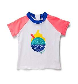 Speedo Ice Cream Short Sleeve Sun Top (Size 1)