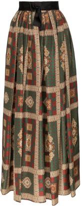 Etro paisley printed maxi skirt