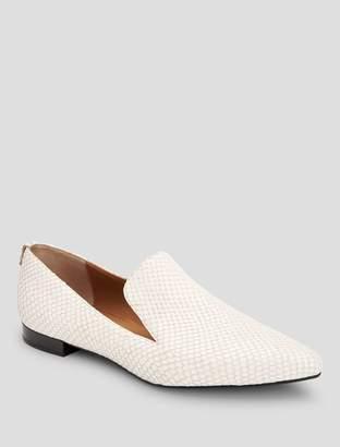 Calvin Klein elin matte snake loafer