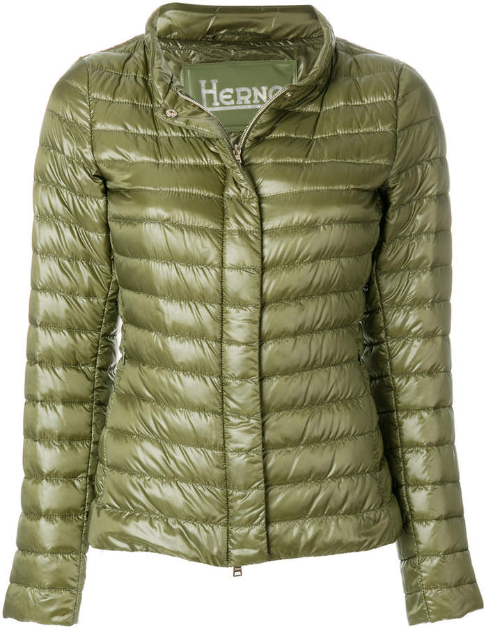 high neck down jacket