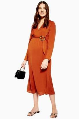 Topshop Womens **Maternity Horn Ring Dress