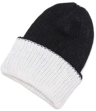 Eugenia Kim Heather リバーシブル ニット帽 ブラック/ホワイト