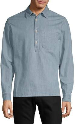 Jean Shop Men's Slim Button-Down Shirt