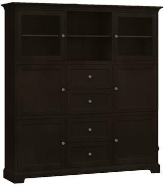 Howard Miller Custom Storage Cabinet, 4-Wood Doors, 4-Drawers