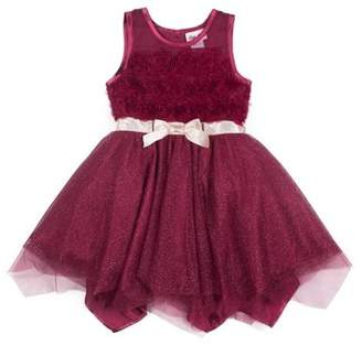 Little Lass Sparkle Tulle Holiday Dress (Little Girls)