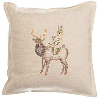 Coral & Tusk Embroidered Pillow Keeper