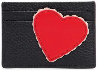 Kate Spade Heart Leather Card Holder