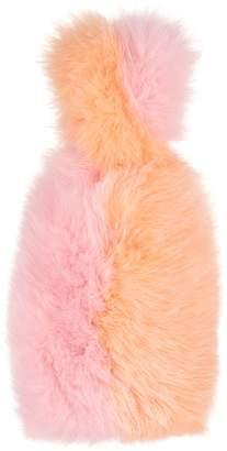 Charlotte Simone Pop Colour Block Fox Bag, Pink, One Size
