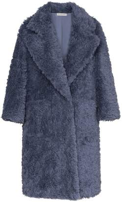Vika Gazinskaya Faux Fur Oversized Coat
