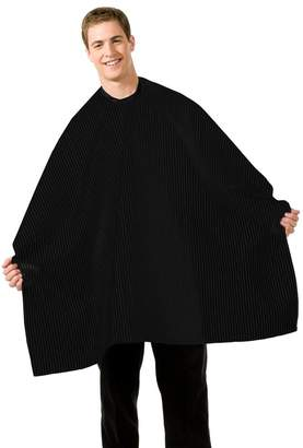 Betty Dain Black Seersucker Barber Cape