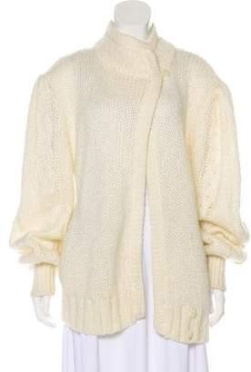 Diane von Furstenberg Open-Front Medium-Weight Cardigan