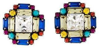Dannijo Crystal Eliades Stud Earrings